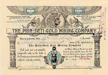 Prin-Seti Gold Mining Co.