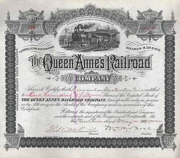Queen Anne's Railroad