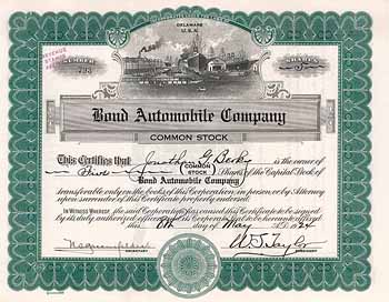 Bond Automobile Co.