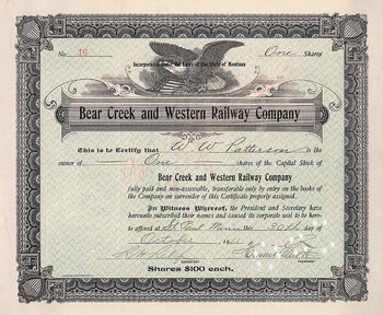 Bear Creek & Western Railway