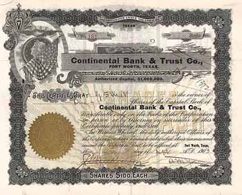 Continental Bank and Trust Co.