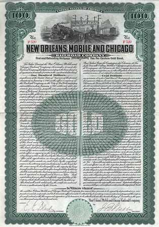 New Orleans, Mobile & Chicago Railroad