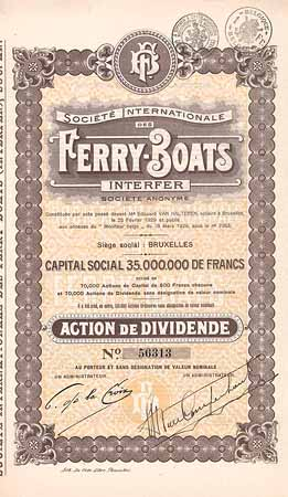 Soc. Internationale des Ferry-Boats Interfer S.A.