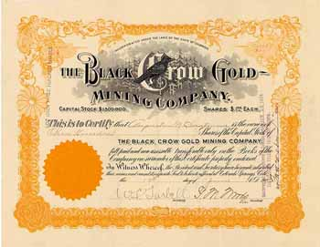 Black Crow Gold Mining Co.
