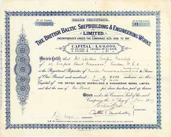 British Baltic Shipbuilding & Engineering Works Ltd.