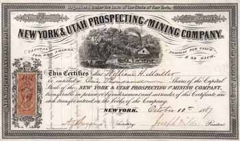 New York & Utah Prospecting and Mining Co.