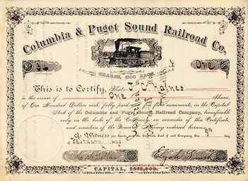 Columbia & Puget Sound Railroad Co.