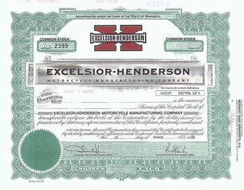 Excelsior-Henderson Motorcycle Manufacturing Co.