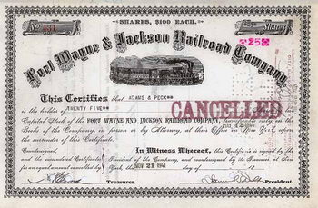 Fort Wayne & Jackson Railroad