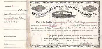 Uniontown & West Virginia Railroad