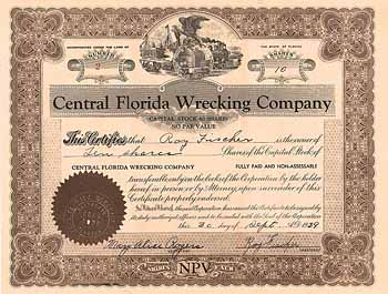 Central Florida Wrecking Co.