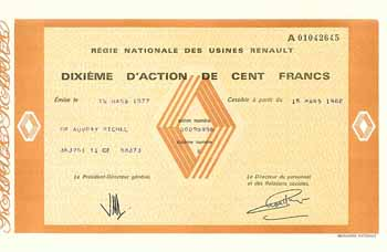 Regie Nationale des Usines Renault