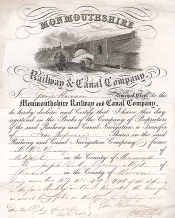 Monmouthshire Railway & Canal Co.