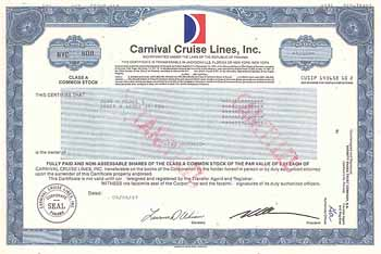 Carnival Cruise Lines, Inc.