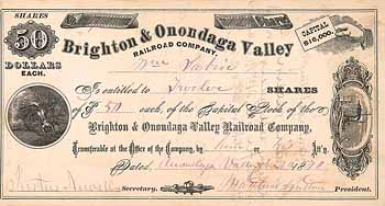 Brighton & Onondaga Valley Railroad