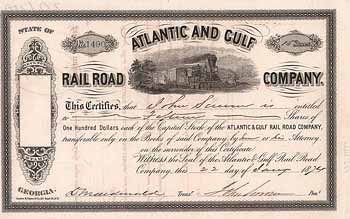Atlantic and Gulf Railroad