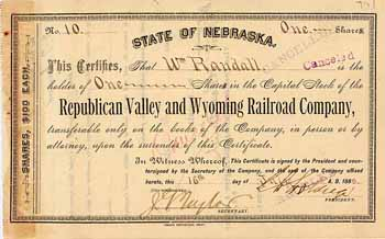Republican Valley & Wyoming Railroad