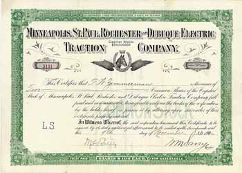Minneapolis, St. Paul, Rochester & Dubuque Electric Traction Co.