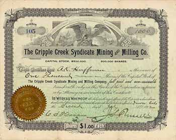 Cripple Creek Syndicate Mining and Milling Co.