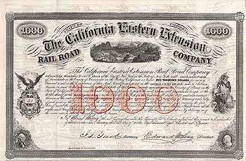 California Eastern Extension Railroad