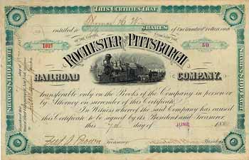 Rochester & Pittsburgh Railroad
