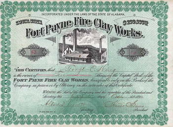 Fort Payne Fire Clay Works