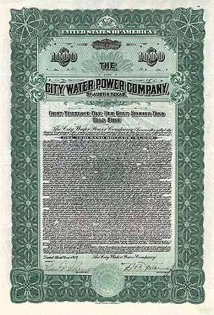 City Water Power Company