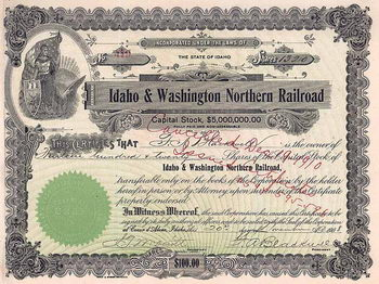 Idaho & Washington Northern Railroad