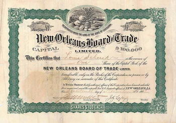New Orleans Board of Trade Ltd.