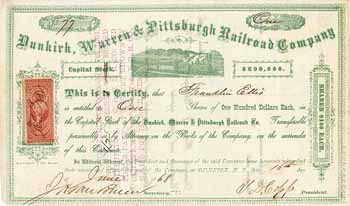 Dunkirk, Warren & Pittsburgh Railroad