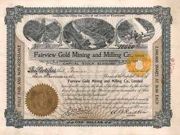 Fairview Gold Mining & Milling Co.
