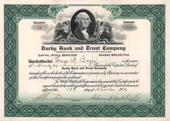 Darby Bank and Trust Company