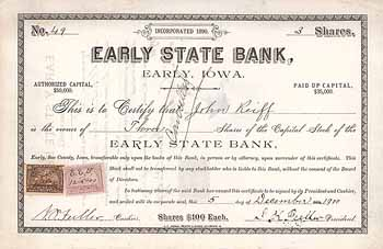 Early State Bank