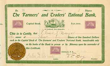Farmers' and Traders' National Bank