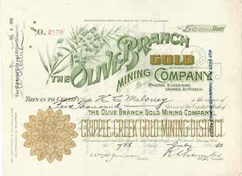 Olive Branch Gold Mining Co.