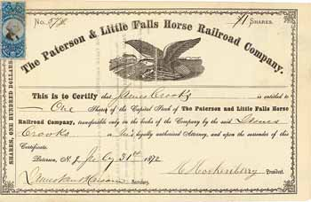 Paterson & Little Falls Horse Railroad