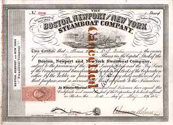 Boston, Newport and New York Steamboat Co.
