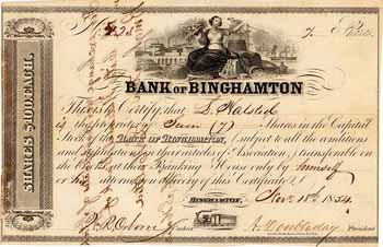 Bank of Binghamton, N.Y.