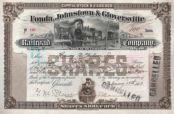 Fonda, Johnstown & Gloversville Railroad