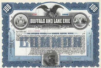 Buffalo & Lake Erie Traction Co.