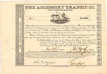 Accessory Transit Co. (of Nicaragua) (OU Charles T. Morgan)