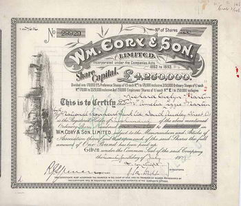 Wm. Cory & Son Ltd.