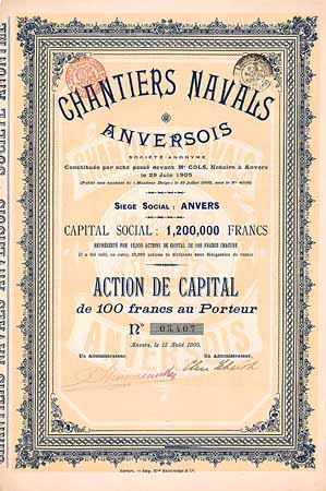 Chantiers Navals Anversois S.A.
