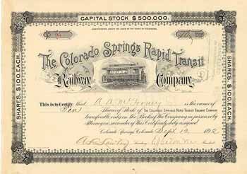Colorado Springs Rapid Transit Railway