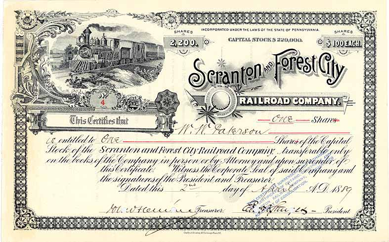 Scranton & Forest City Railroad