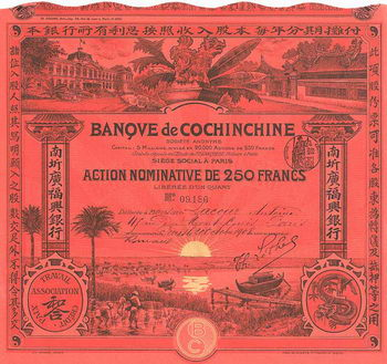 Banque de Cochinchine S.A.