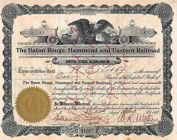Baton Rouge, Hammond & Eastern Railroad