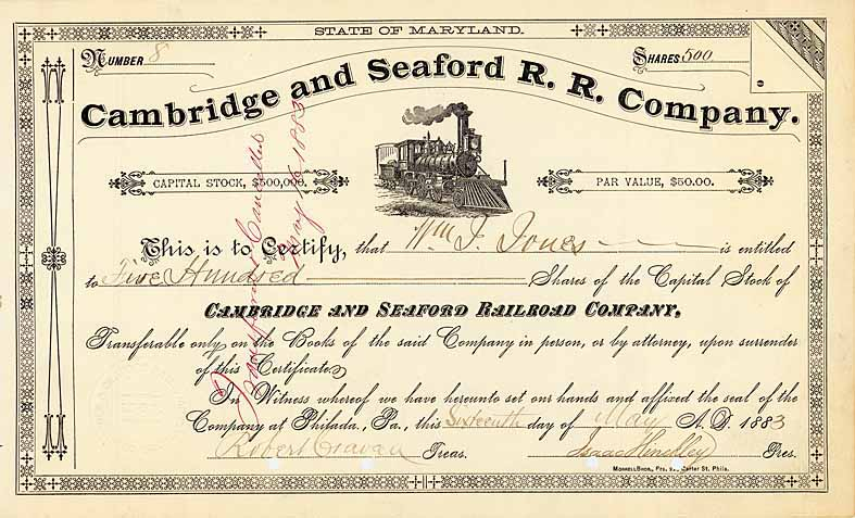 Cambridge & Seaford Railroad