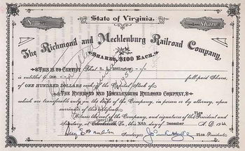Richmond & Mecklenburg Railroad