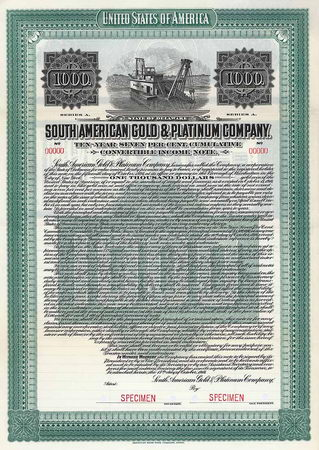 South American Gold & Platinum Co.